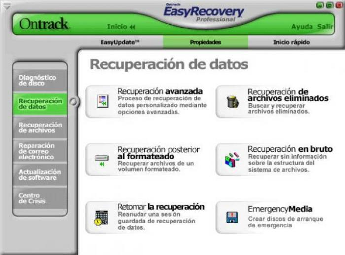 easy recovery pro v 6.04 gratuit